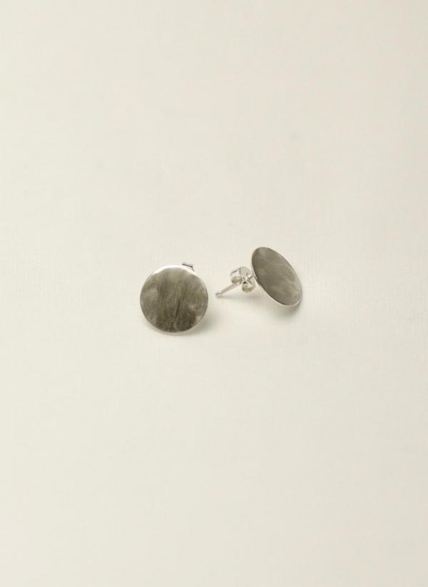 Boucles d'oreilles Geometry Coin