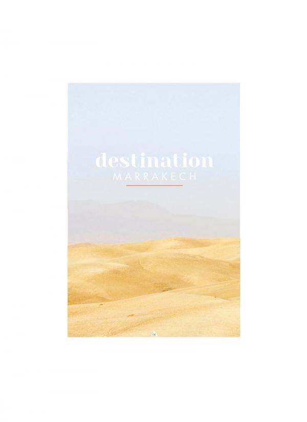 Livre Destination Marrakech